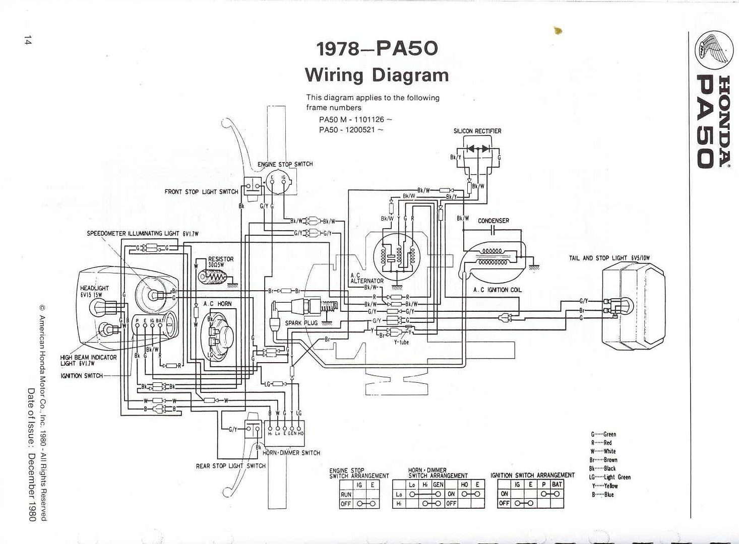 Tpgs 805 Scooter Wiring Diagram