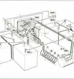 1989 electric ezgo electric marathon resistor wiring diagram [ 1024 x 776 Pixel ]
