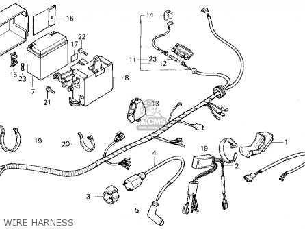 1986 Tlr200 Reflex Wiring Diagram