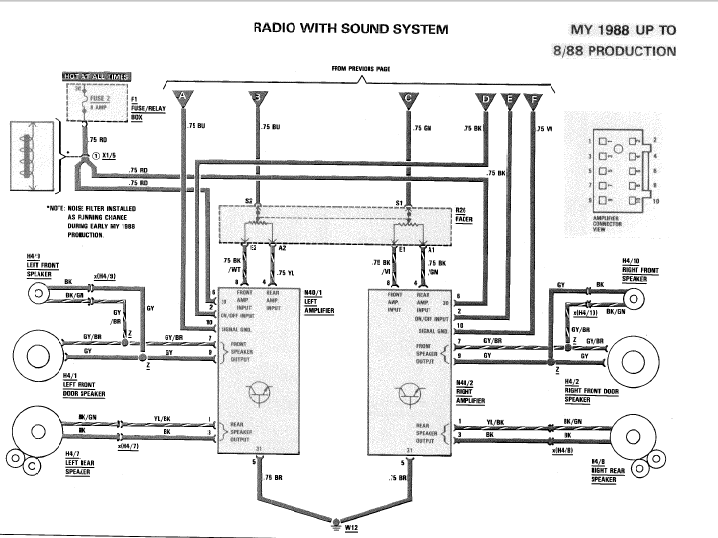 [DIAGRAM] Mercedes Benz Stereo Wiring Diagram FULL Version