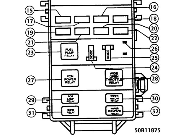 1996 Mazda B2300 Radio Wiring Diagram