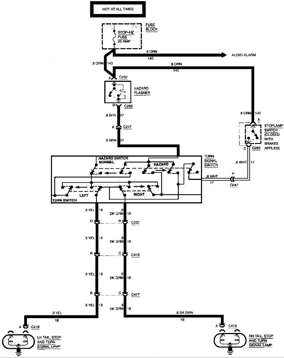 1998 P30 Step Van Wiring Diagram