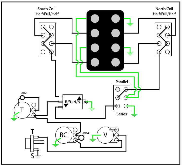 2 Humbucker Reverend Wiring Diagram