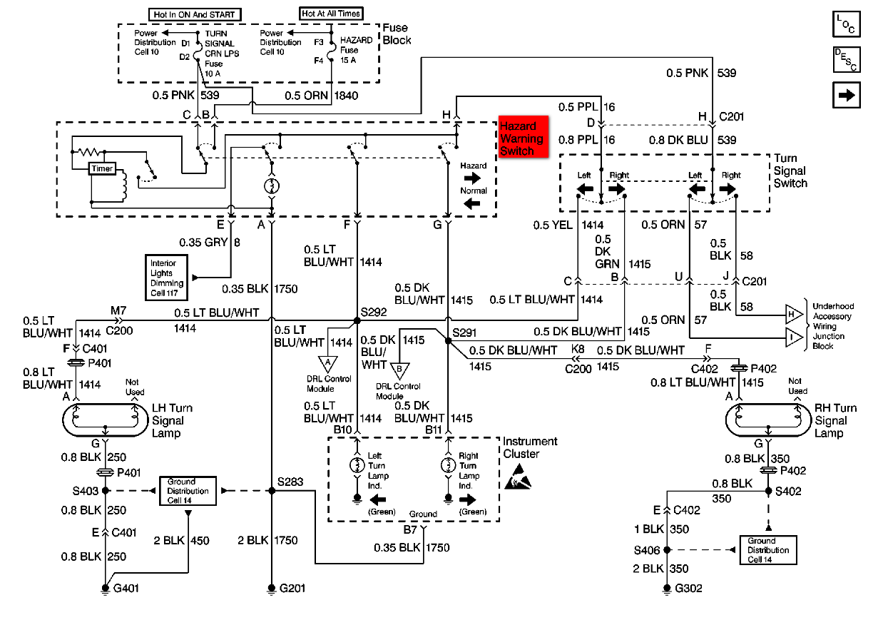 Oldsmobile Bravada Radio Wiring Diagram