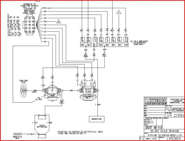 2002 Winnebago Horizon Itasca A/c Wiring Diagram