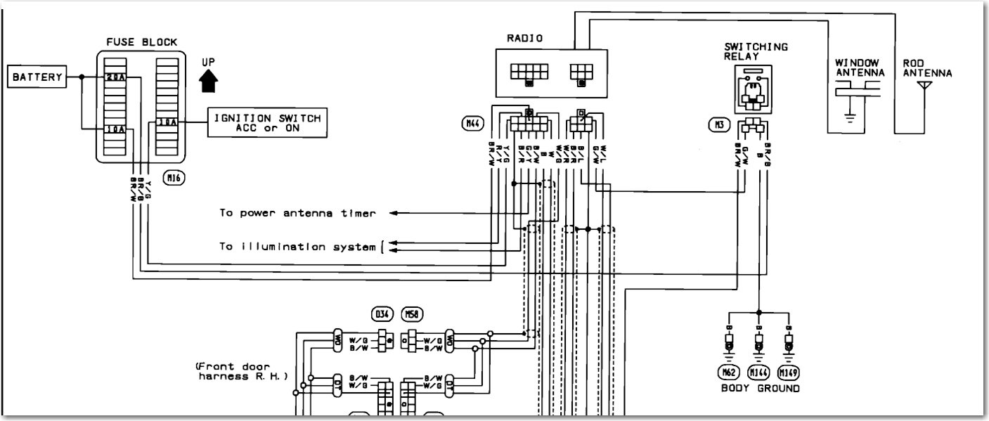2002nissan Pathfinder Tape Stereo Wiring Diagram
