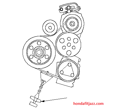 2004 Honda Cr V Serpentine Belt Diagram