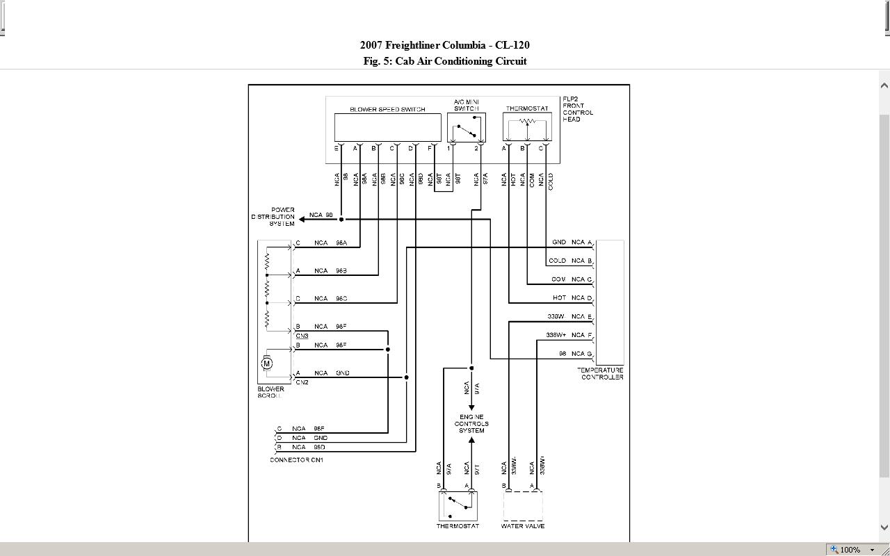 2005 Freightliner M2 Wiring Diagram