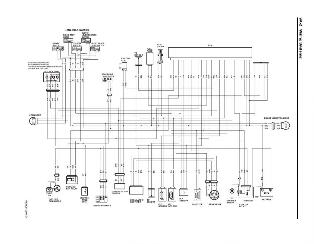 2006 Wiring Diagram Ltr450