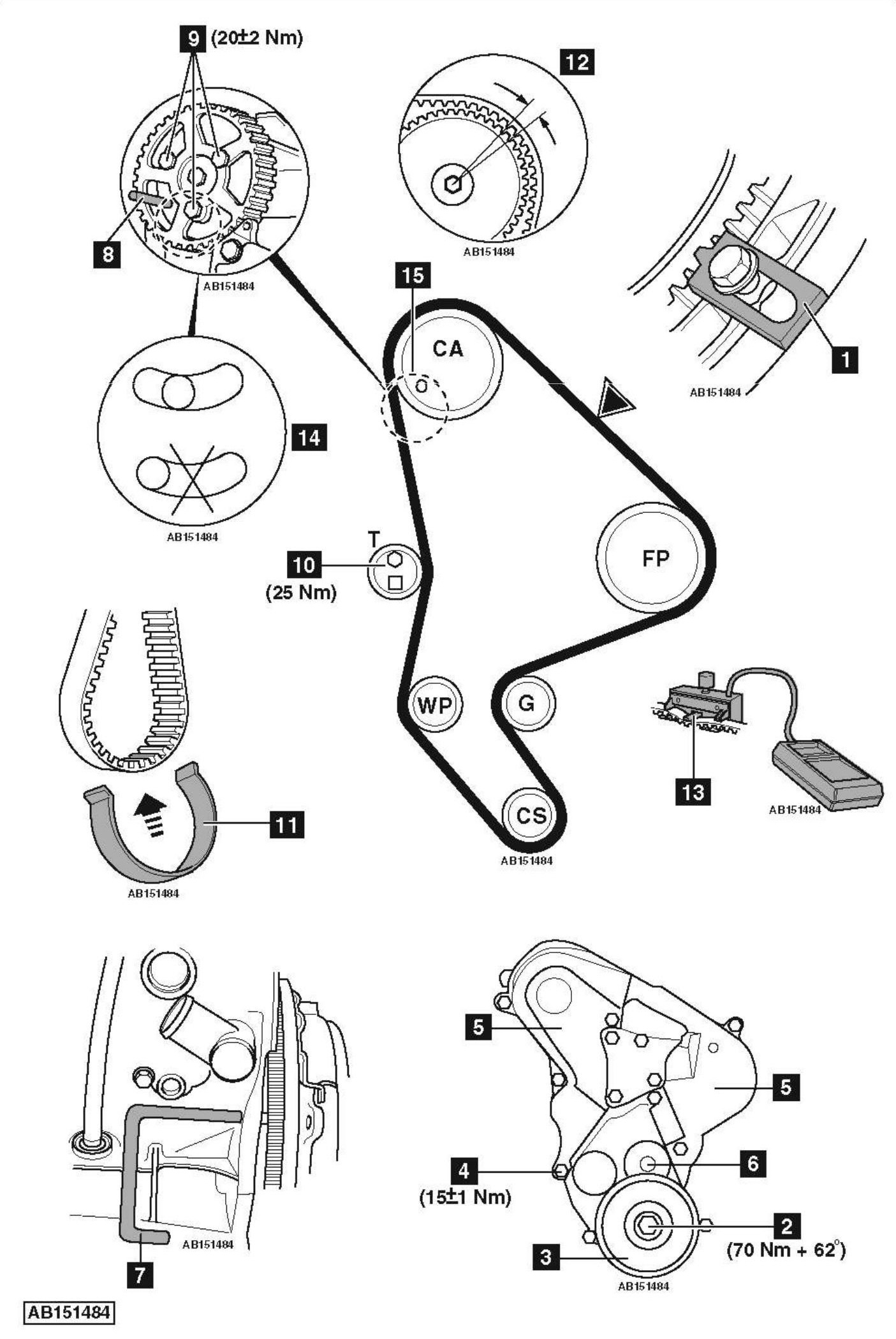 2008 Scion Tc Serpentine Belt Diagram