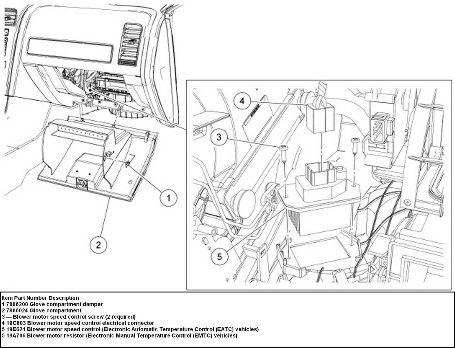 2011 Ford Fusion Blower Motor Resistor Wiring Diagram