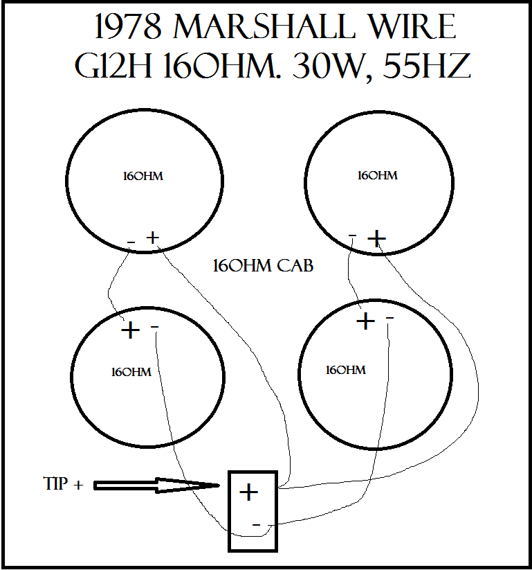 4x12 Cabinet Wiring