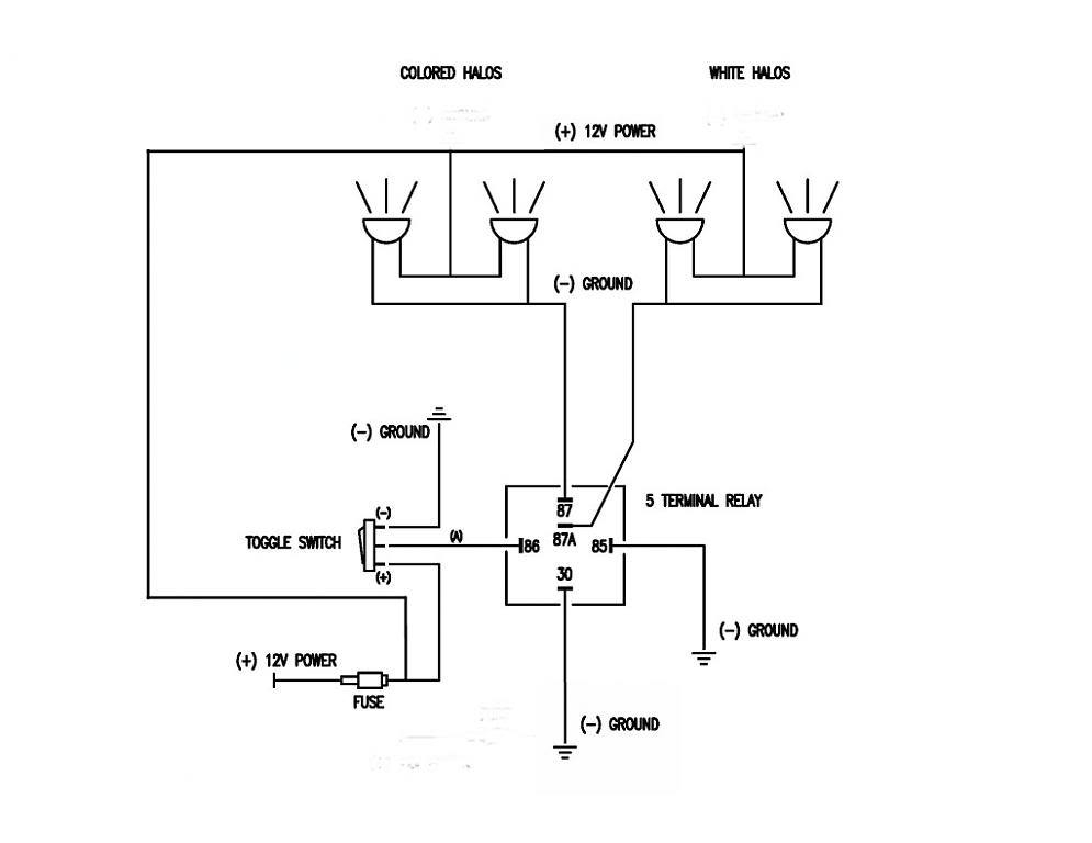 50732 Relay Wiring Diagram