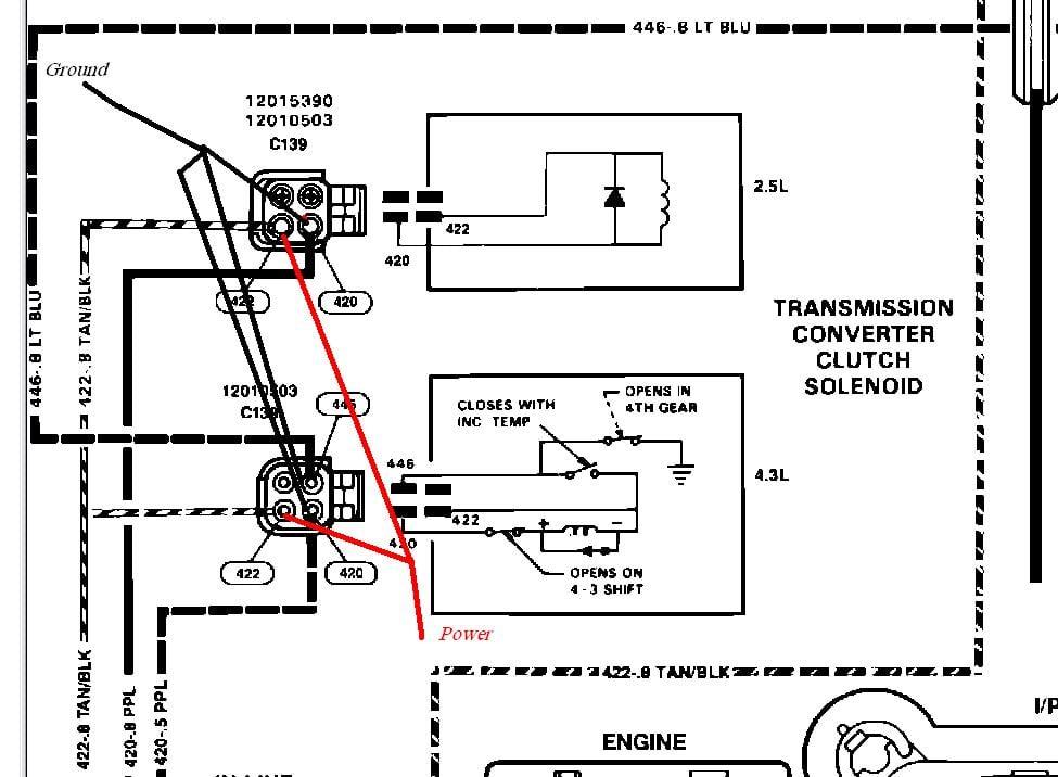700r4 Converter Lockup Wiring Diagram