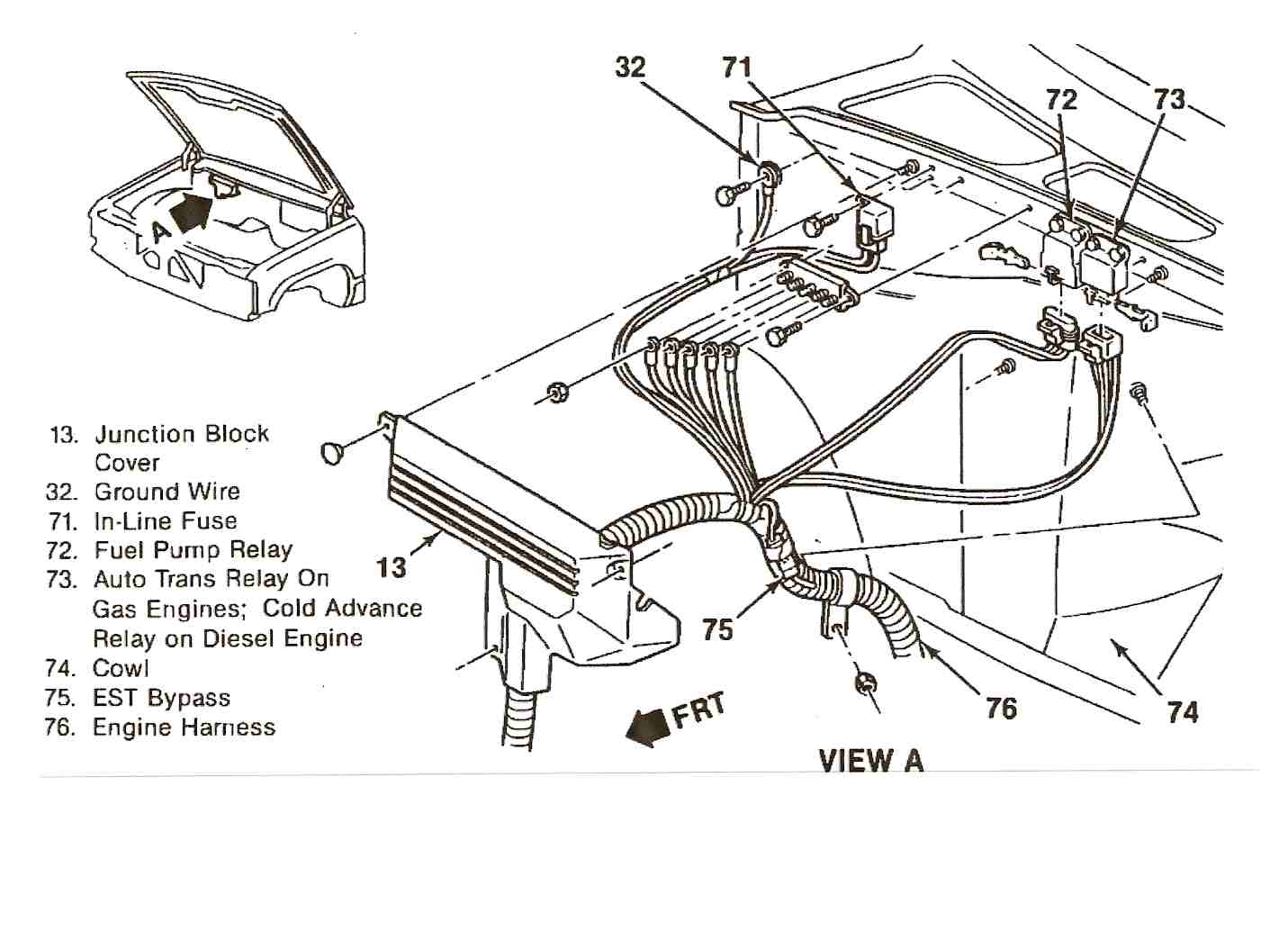 87 Chevy V10 Wiring Diagram