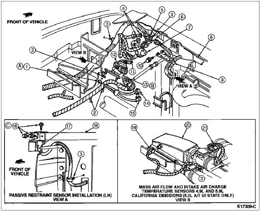 95 Lincoln Town Car 4.6 Fuel Wiring Diagram Color Coded