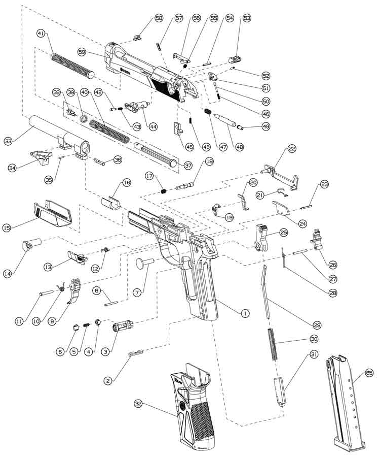 Beretta Px4 Storm Parts Diagram