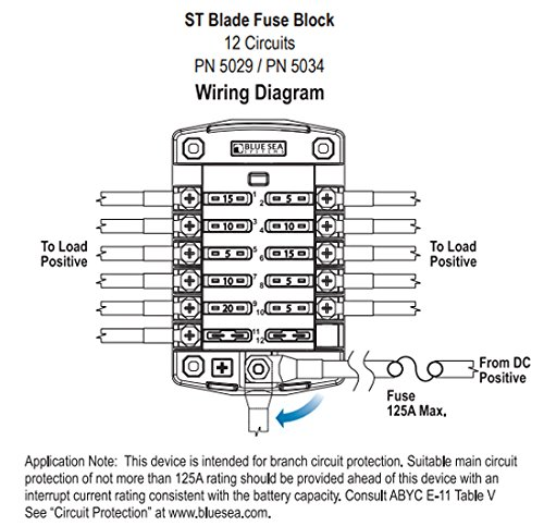 Blue Sea 7601 Wiring Diagram