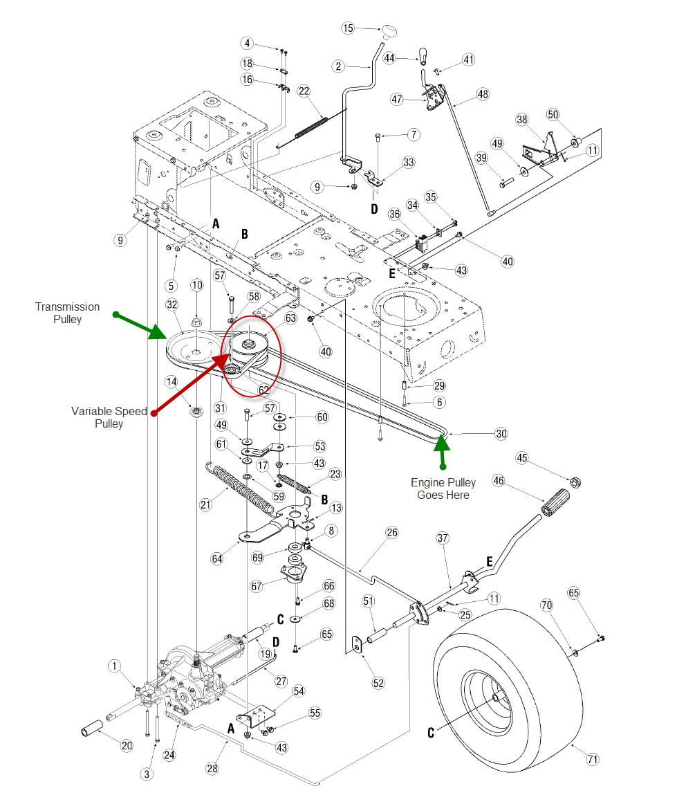 Bolens Riding Mower Wiring Diagram