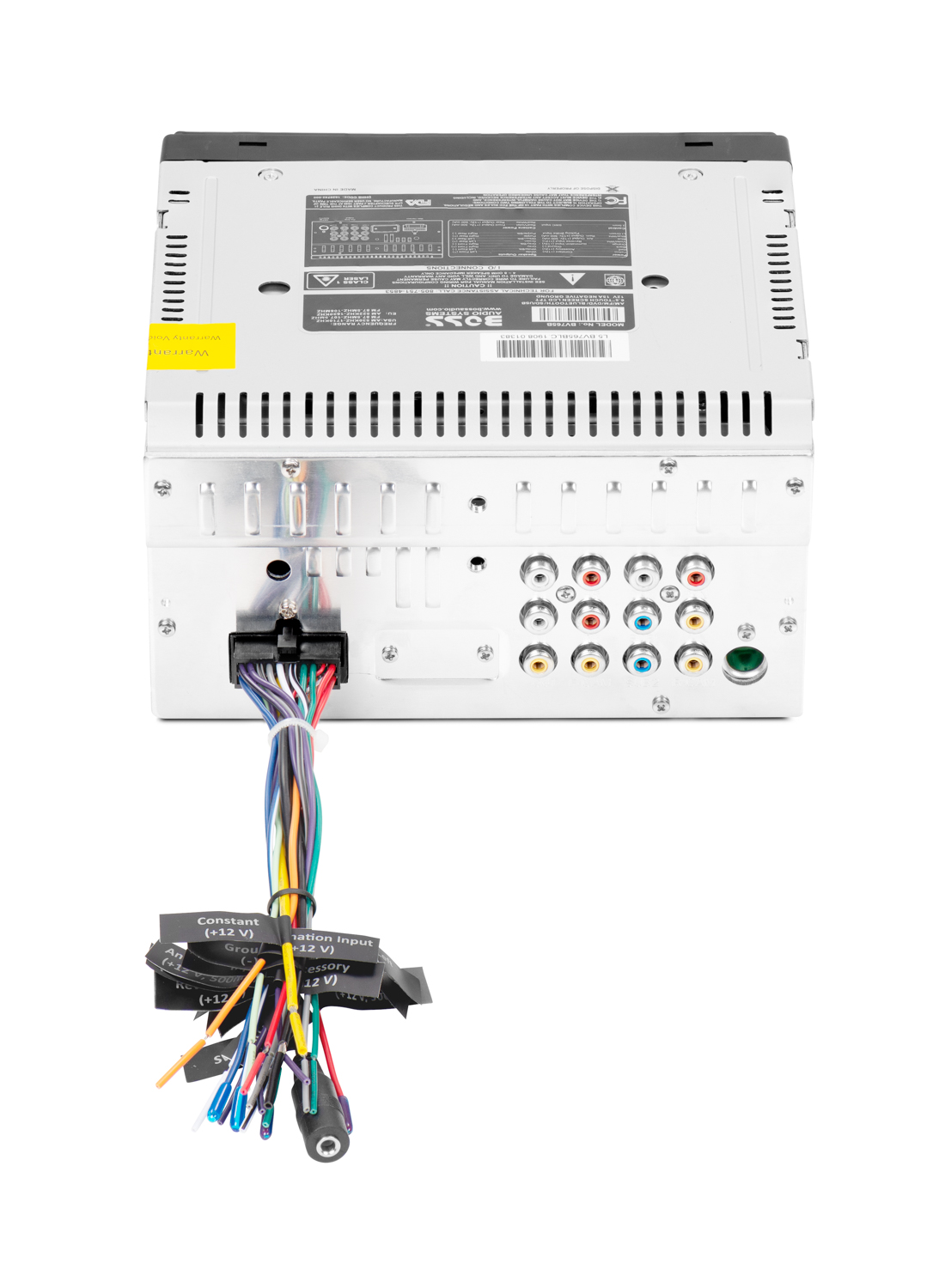 Boss Elite Be 1 Remote Subwoofer Control Wiring Diagram