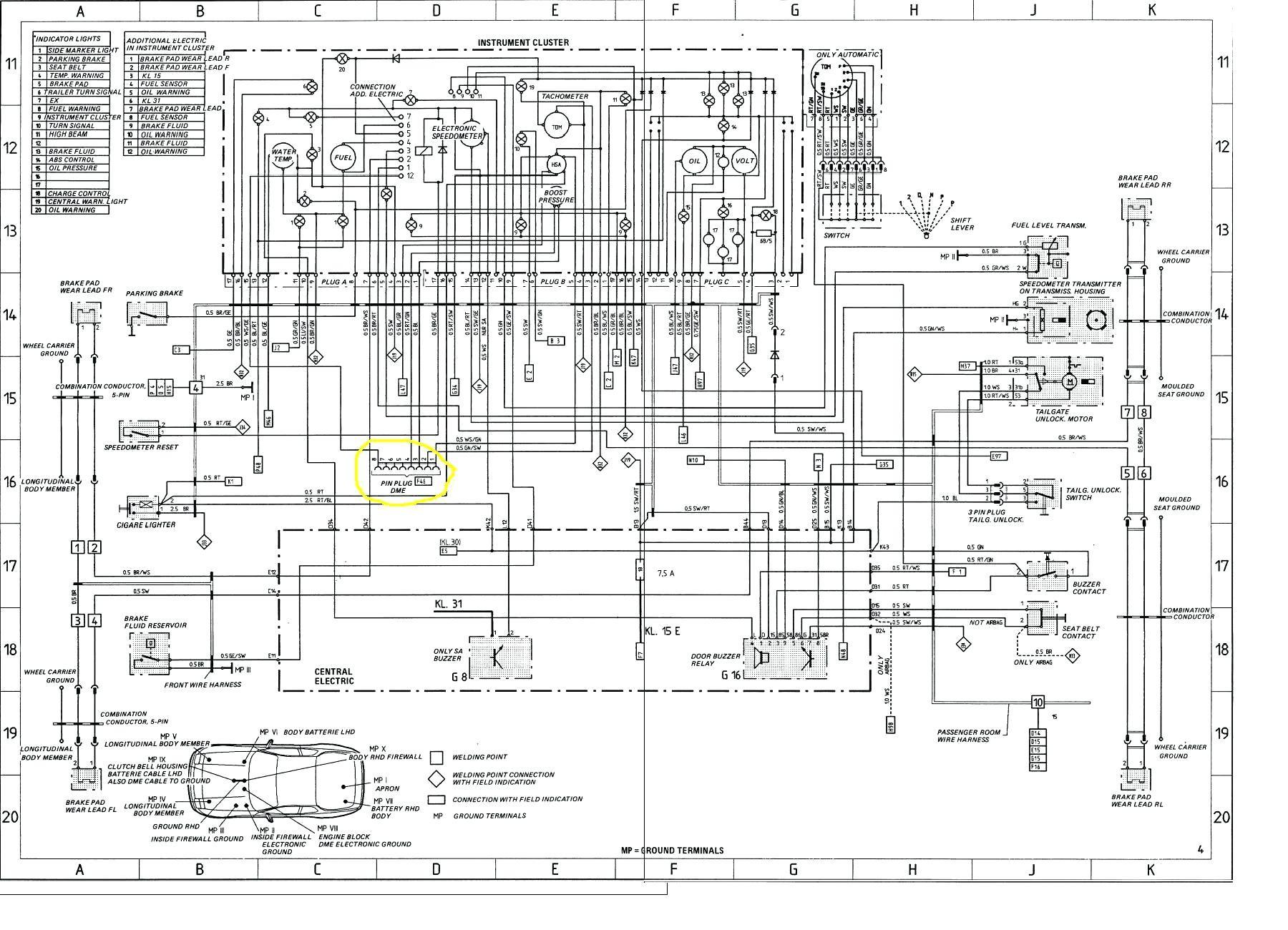 [DIAGRAM] Porsche 996 Wiring Diagram FULL Version HD