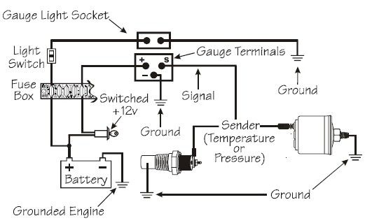 Calibre Digital Boost Gauge Wiring Diagram