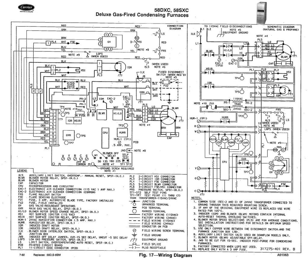 Carrier 38en Wiring Diagram
