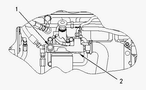 Cat C12 Fuel System Diagram