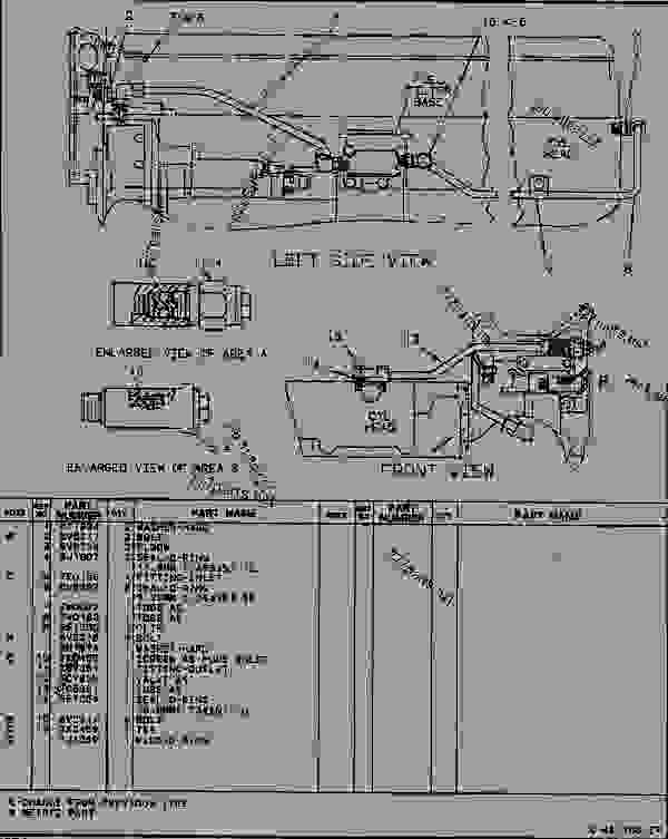 Caterpillar 3116 Fuel System Diagram