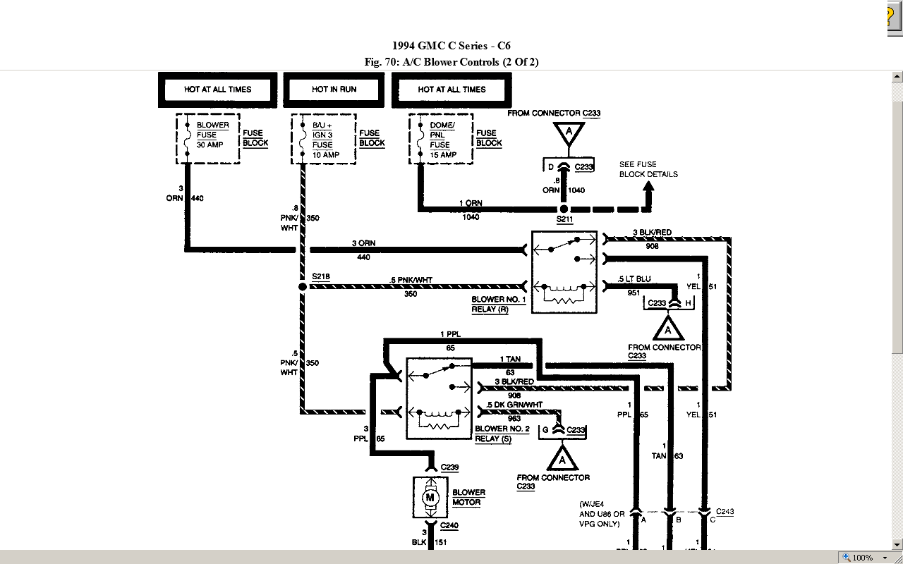 Chevy C4500 Wiring Diagram