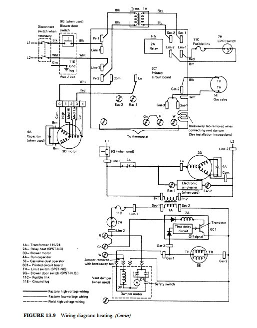 Comfortmaker Heat Pump Wiring Diagram