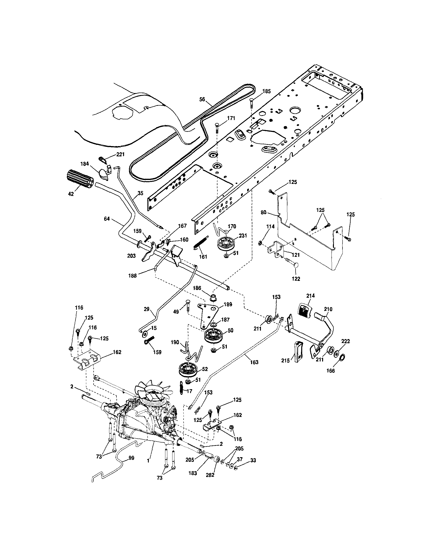 Craftsman Dls 3500 Parts Diagram