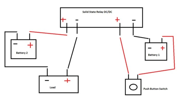 Crydom D2450-10 Solid State Relay Wiring Diagram
