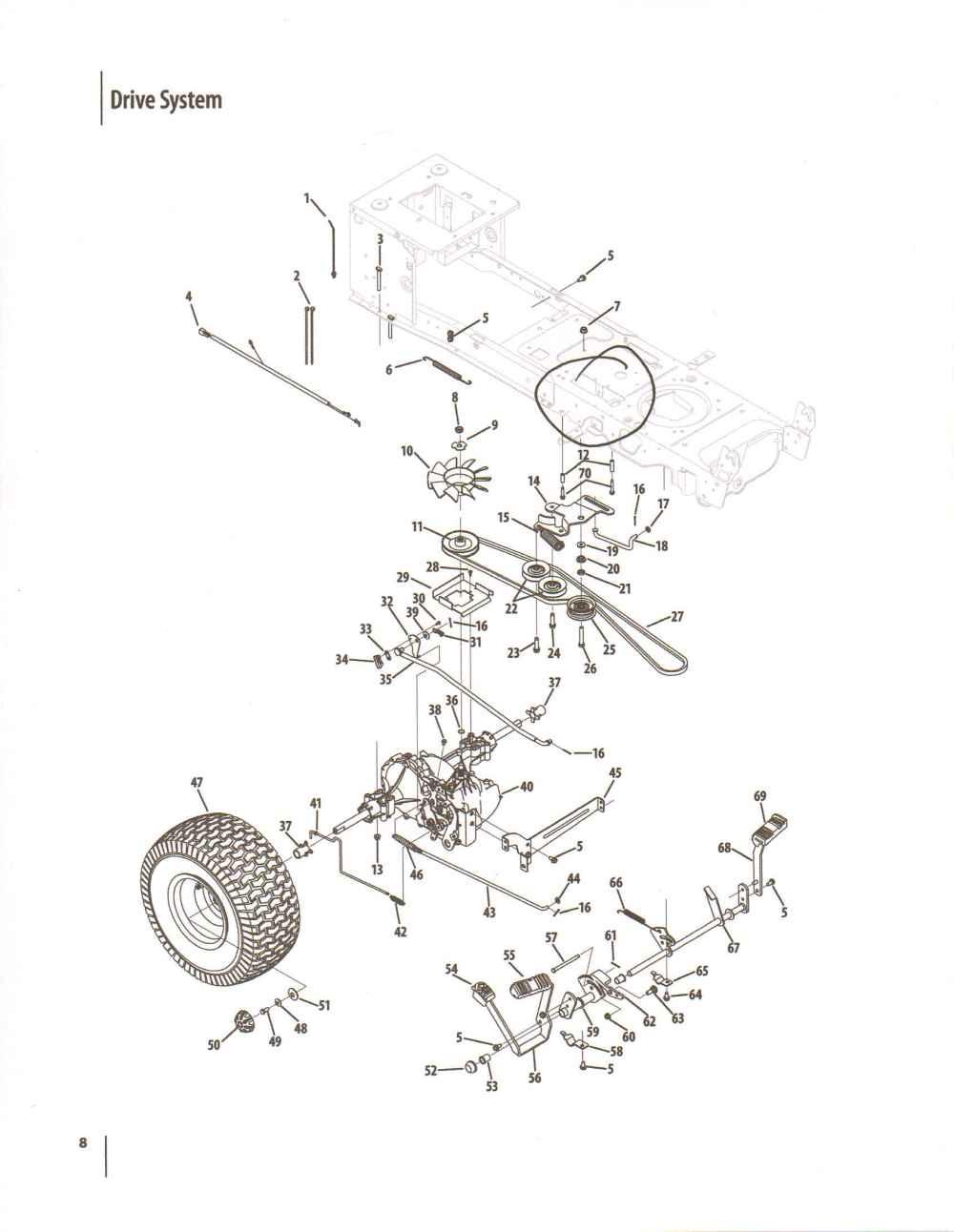 medium resolution of cub cadet lt1045 belt diagram