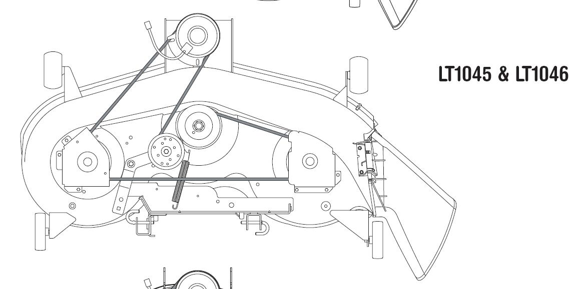 Cub Cadet Ltx 1042 Parts Diagram