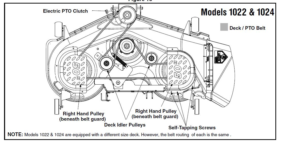 Cub Cadet Ltx 1042 Parts Diagram