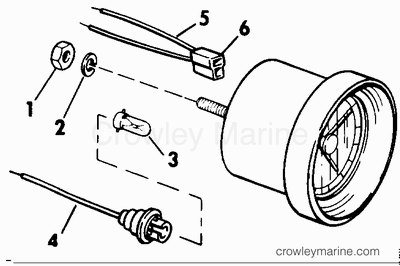 Curtis Battery Indicator 914-483001 Wiring Diagram