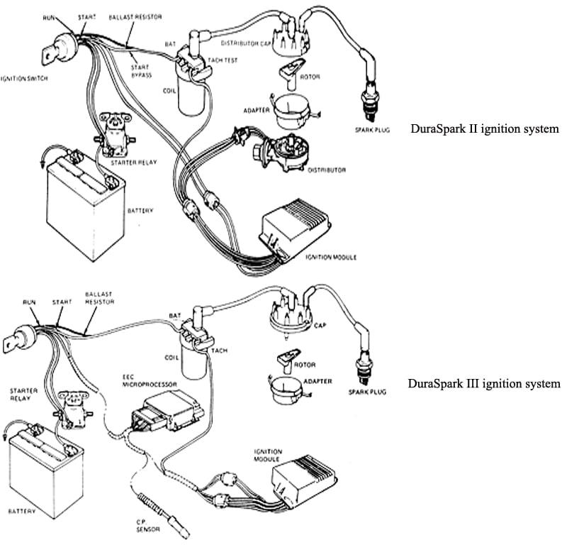 Early Duraspark Wiring Diagram
