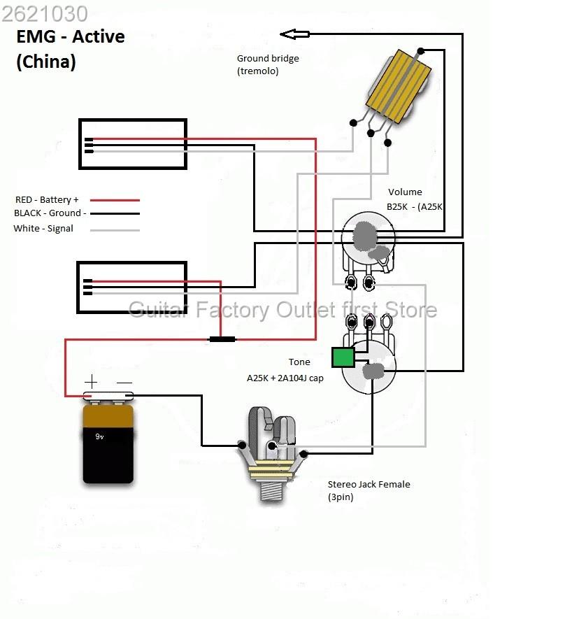 Emg Wiring Diagram Solderless