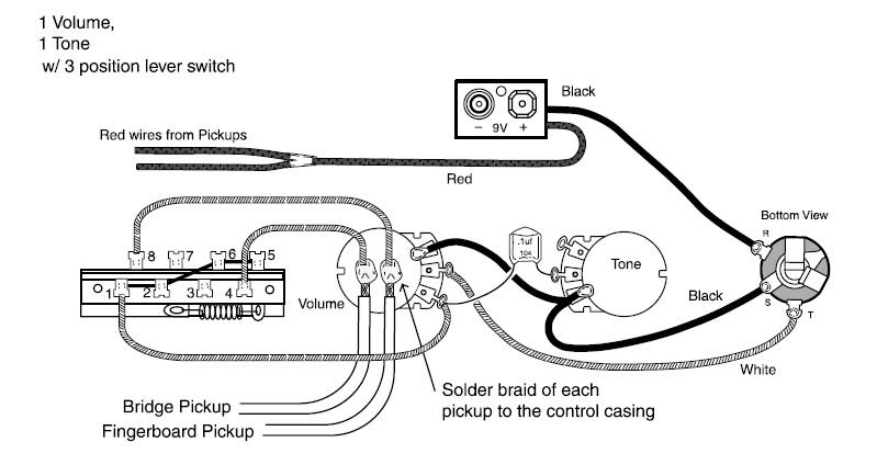 Emg-zw Set (emg-81 / Emg-85) Wiring Diagram