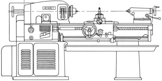 leblond lathe wiring diagram