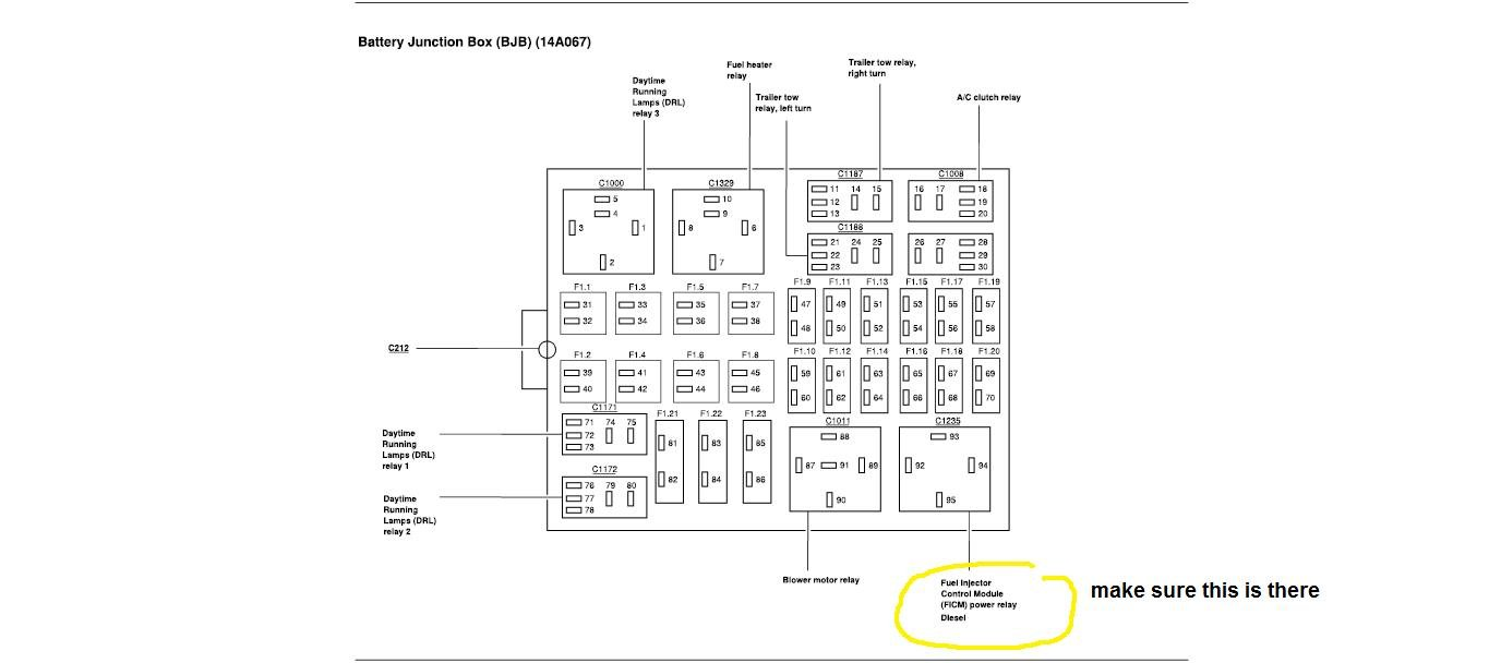 Ford 6.0 Ficm Wiring Diagram
