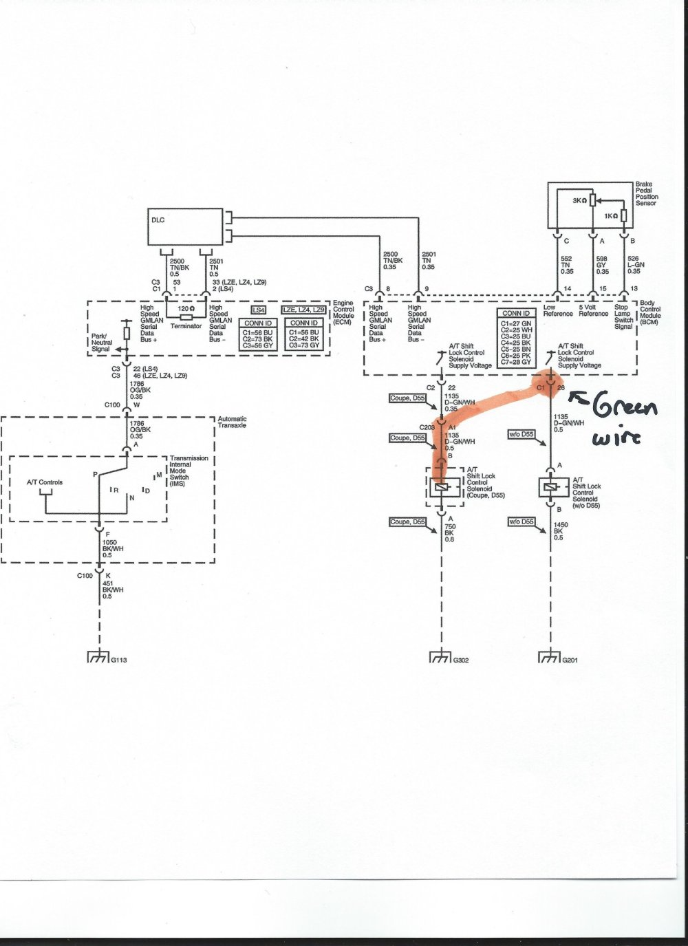 medium resolution of wiring diagram 05 chevy impala