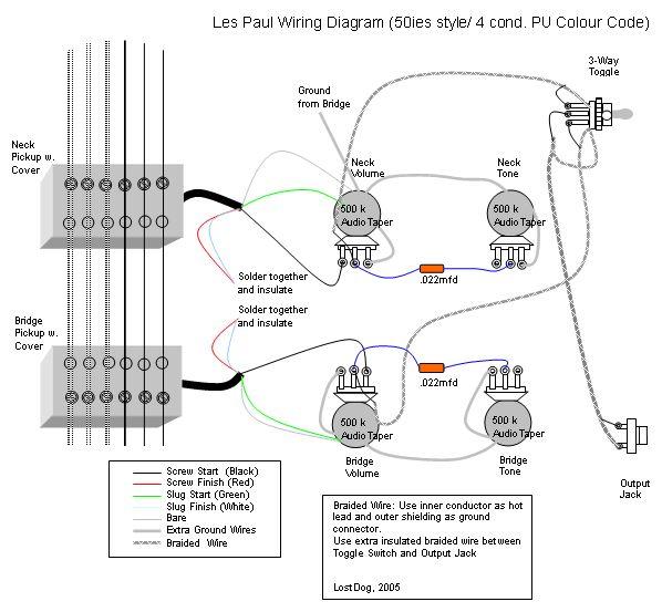 Gibson Eb-3 Wiring Diagram