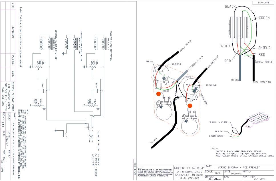 Gibson Peter Frampton Wiring Diagram
