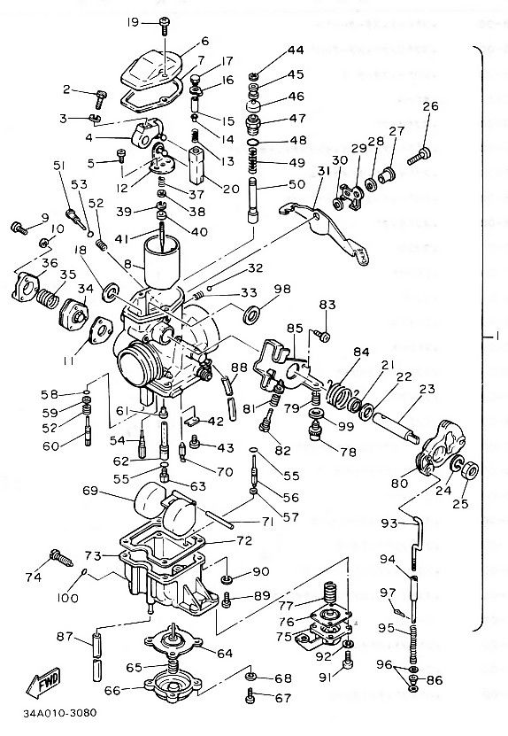 Grizzly 660 Carb Diagram