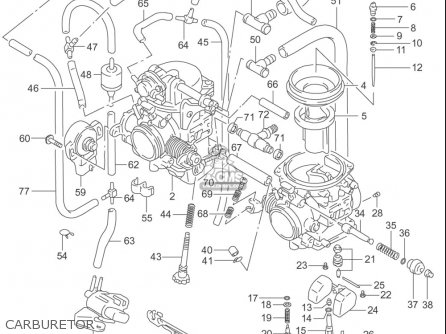 Gs500 Carb Diagram