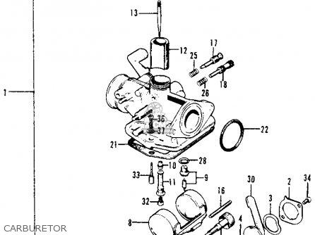 Honda 400ex Carburetor Diagram