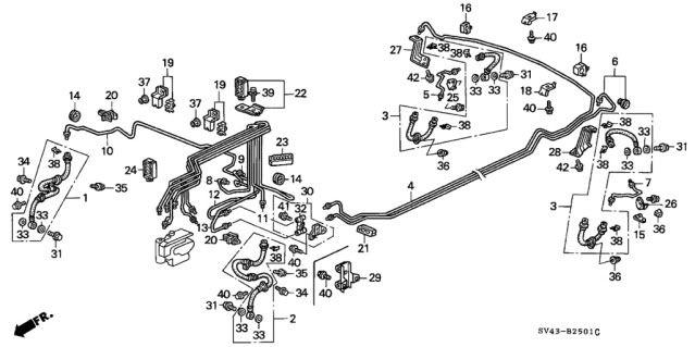 Honda Crv Undercarriage Diagram