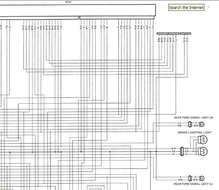 Honda F4i Wiring Diagram